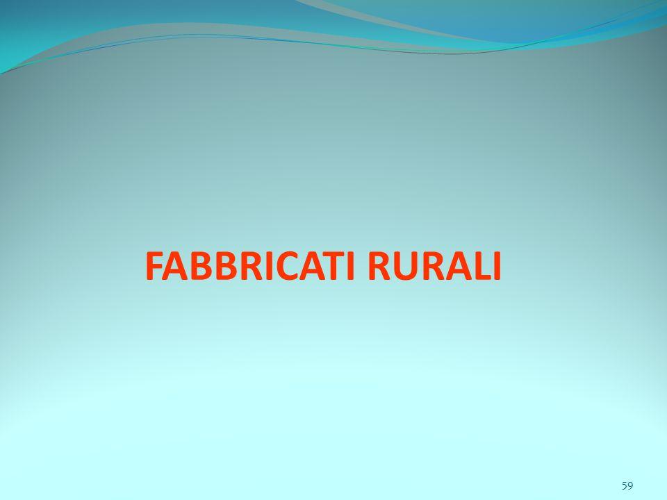 59 FABBRICATI RURALI