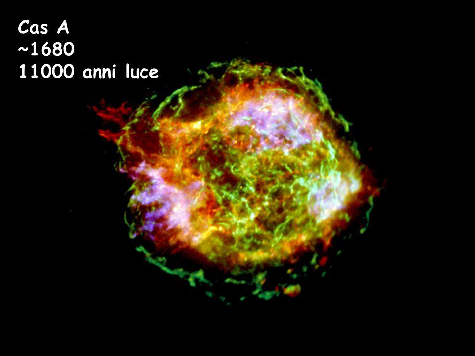 Cas A ~1680 11000 anni luce