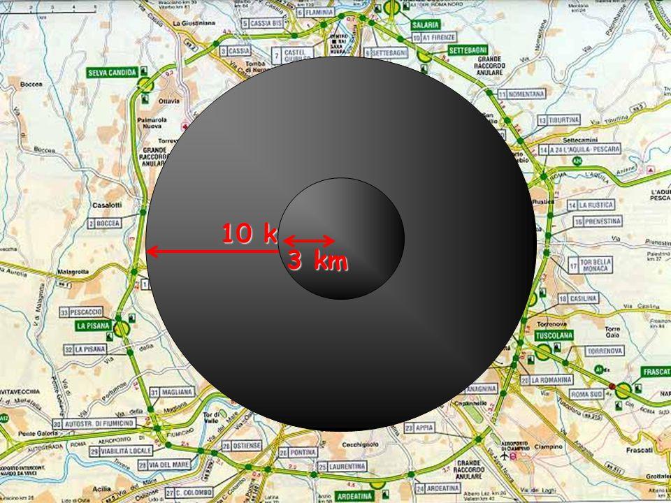 ROMA 10 km 3 km