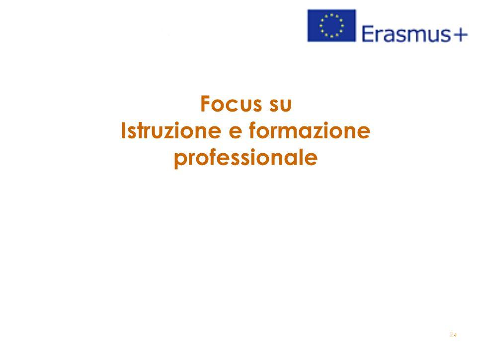Focus su Istruzione e formazione professionale 24