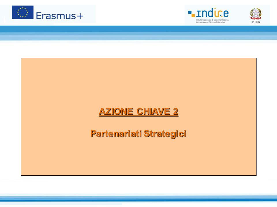AZIONE CHIAVE 2 Partenariati Strategici