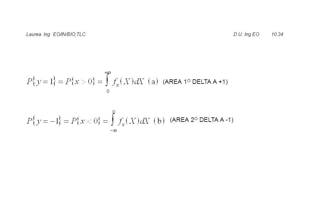 Laurea Ing EO/IN/BIO;TLC D.U. Ing EO 10.34 (AREA 1 O DELTA A +1) (AREA 2 O DELTA A -1)