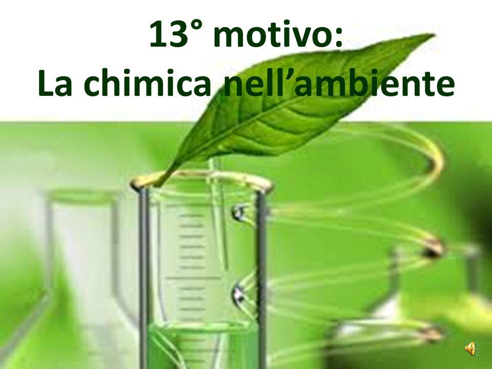 12° motivo: La chimica nella medicina