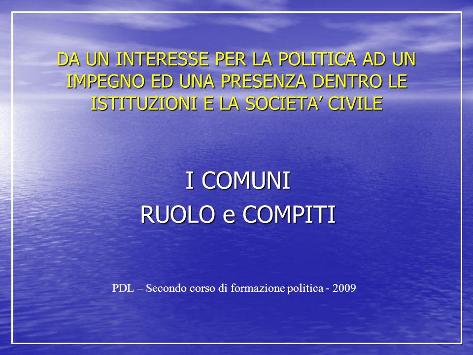 Attribuzioni del Consiglio 1.Il consiglio e l organo di indirizzo e di controllo politico-amministrativo.