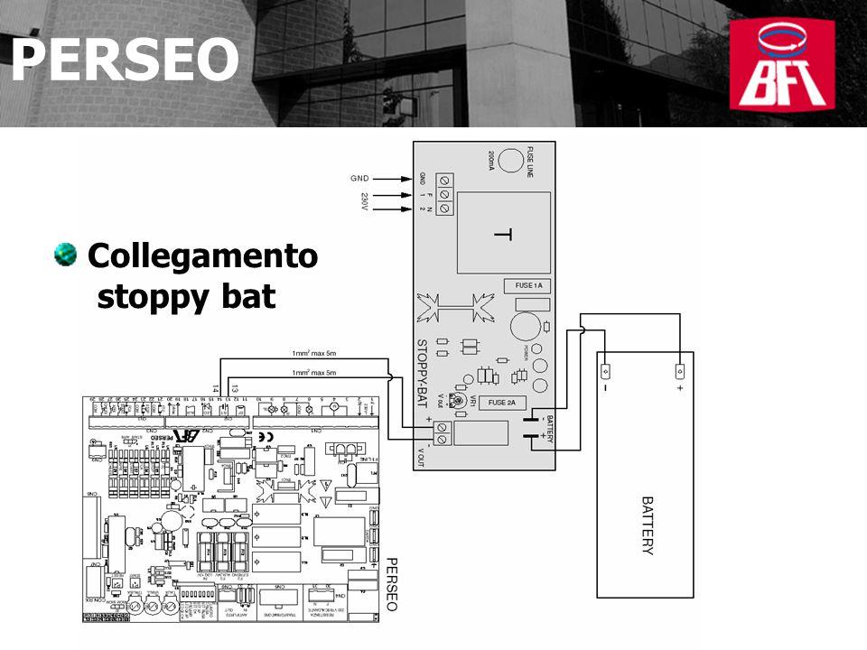 Collegamento stoppy bat