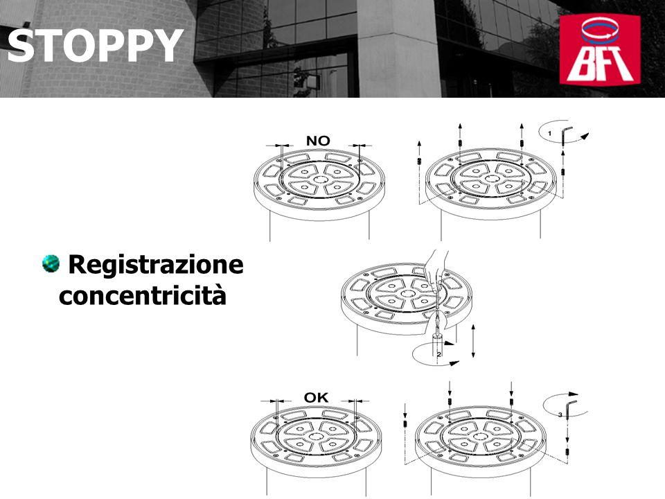 STOPPY Registrazione concentricità