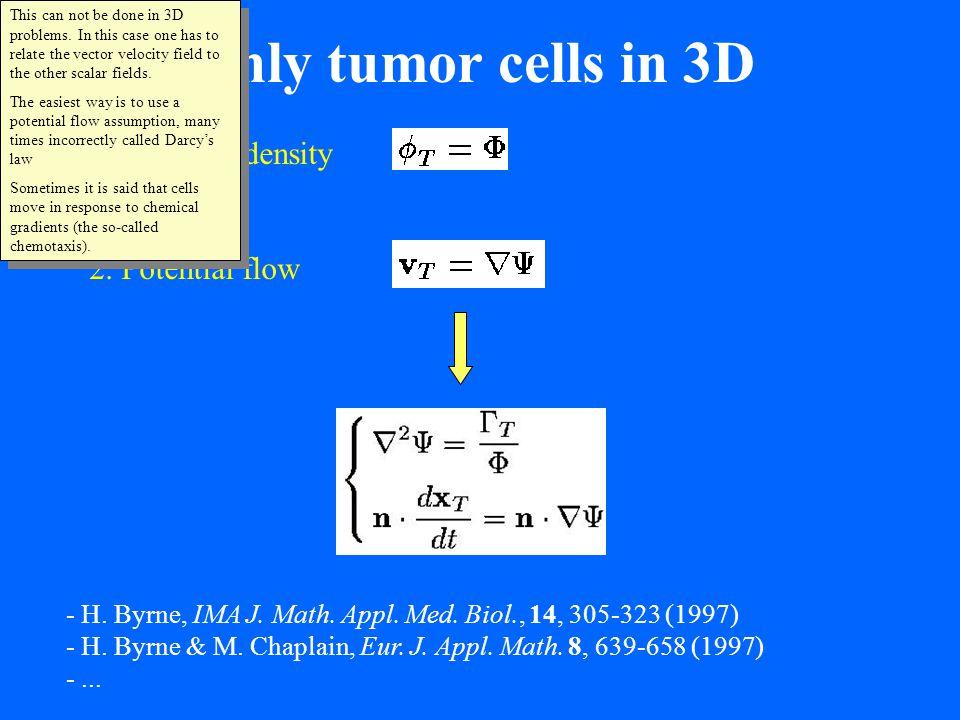 M. Dorie et al, Exp. Cell Res. 141 201-209 (1982) center outside