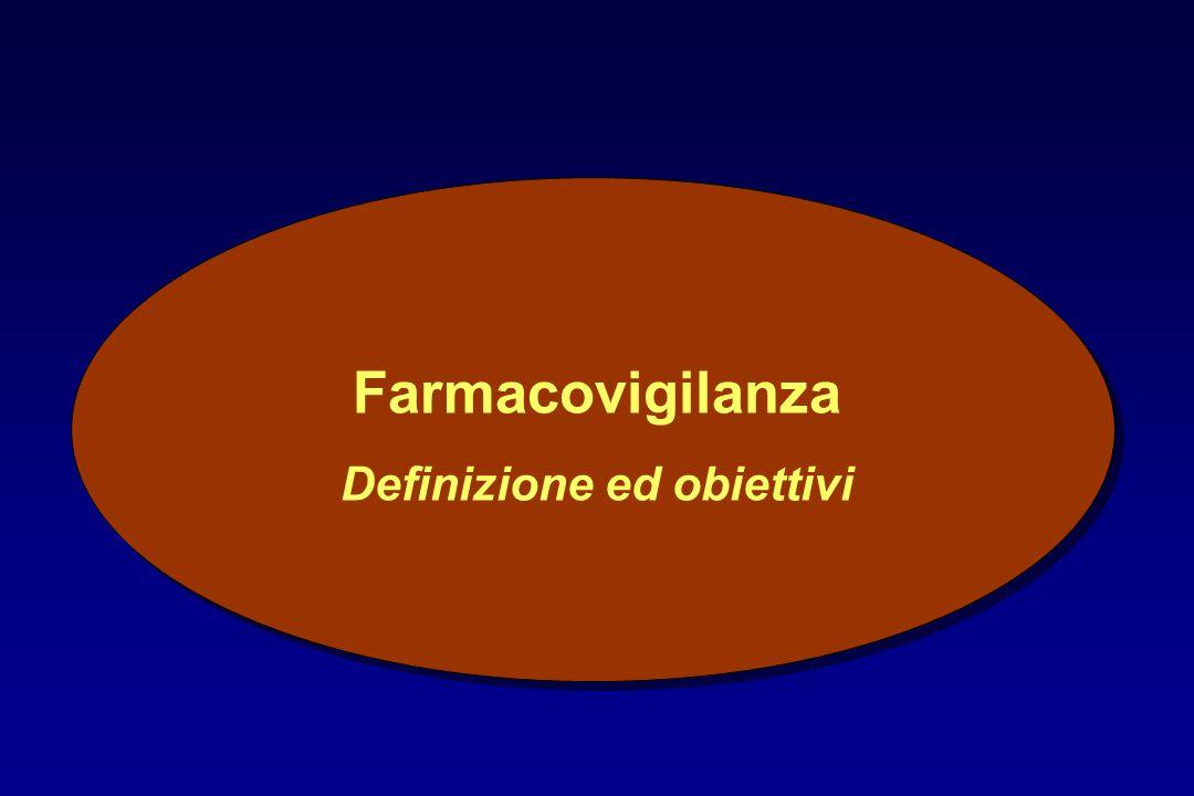 Farmacovigilanza Definizione ed obiettivi