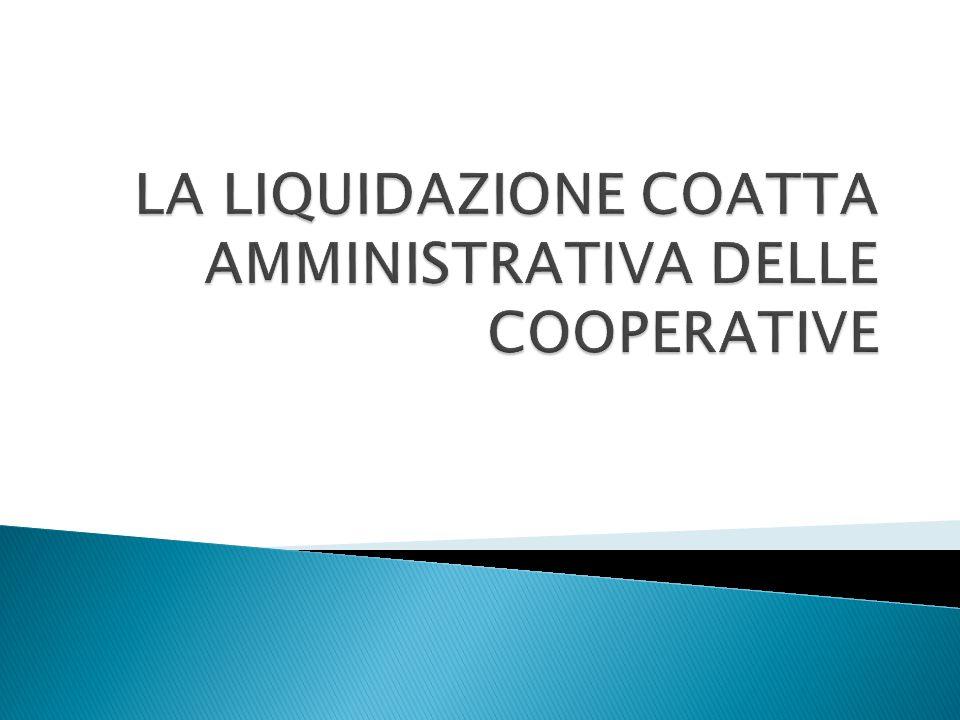 La liquidazione coatta amministrativa è una procedura concorsuale con caratteri di specialità dovuti all'ingerenza nella stessa da parte dello Stato.