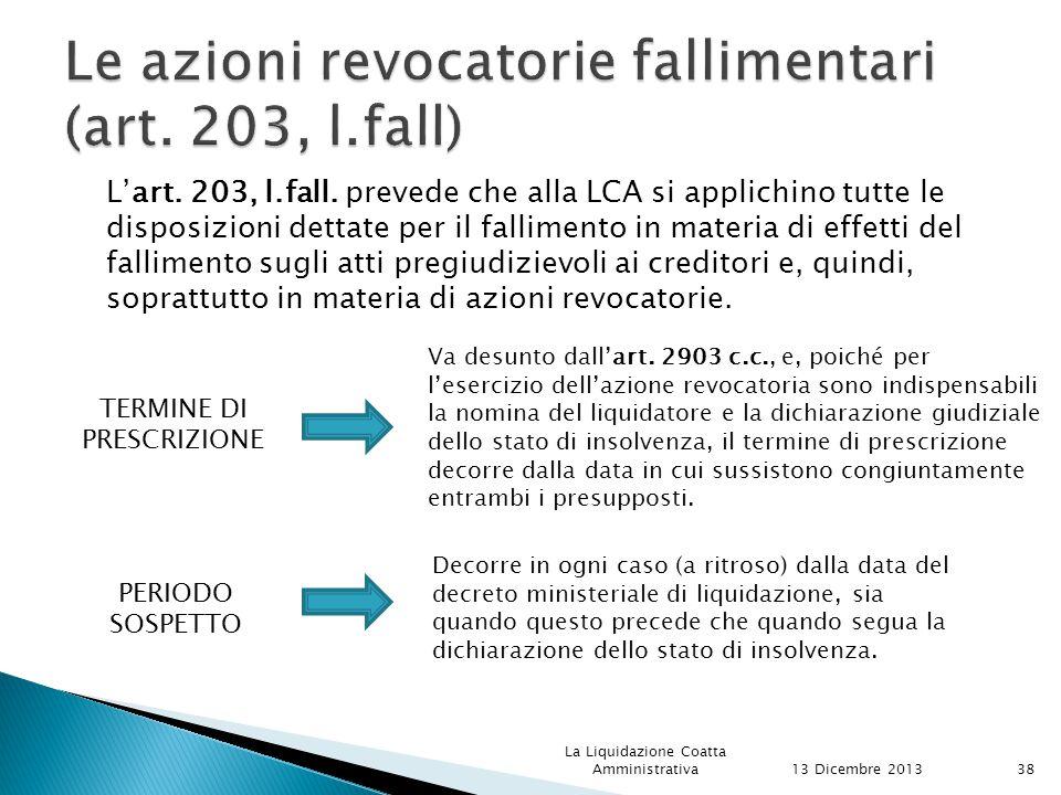L'art.203, l.fall.
