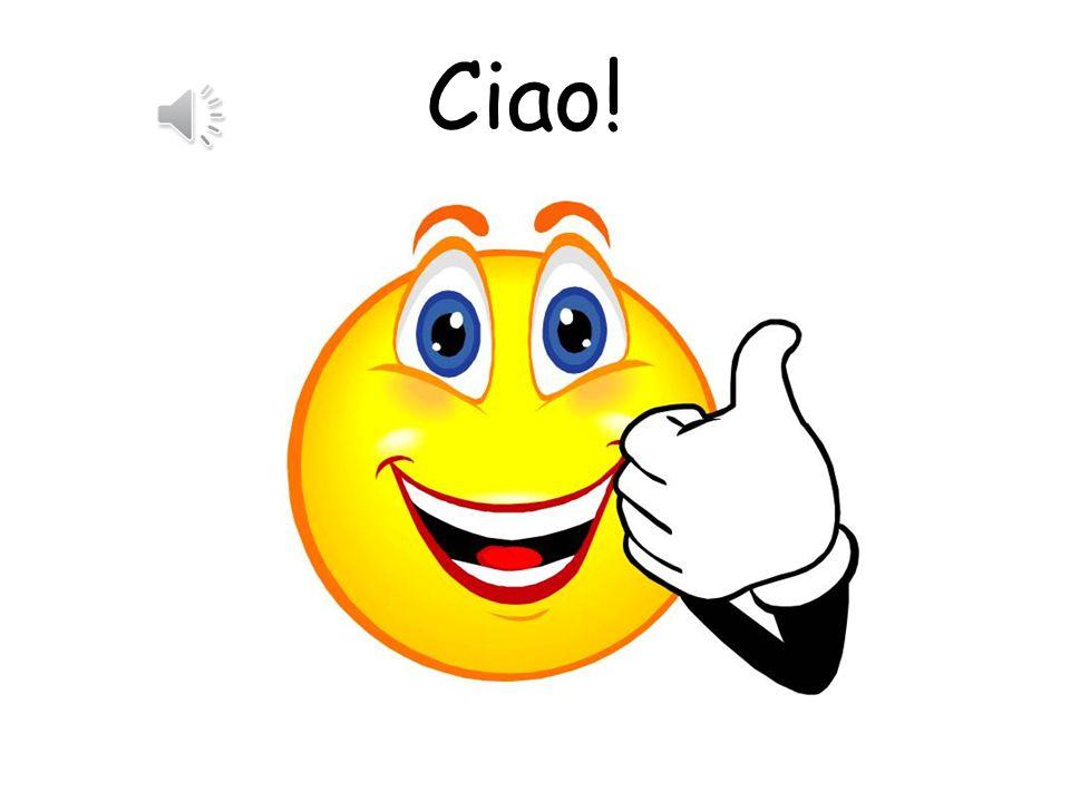 Ciao!