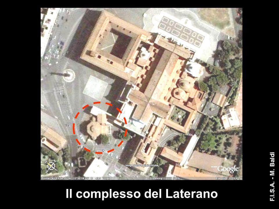 I dettagli della decorazione Reimpiego nel battistero Lateranense Foro di Cesare Tempio di Venere Basi pertinenti all'interno del tempio Rifacimento Traianeo ( circa 100 d.C.) F.I.S.A.