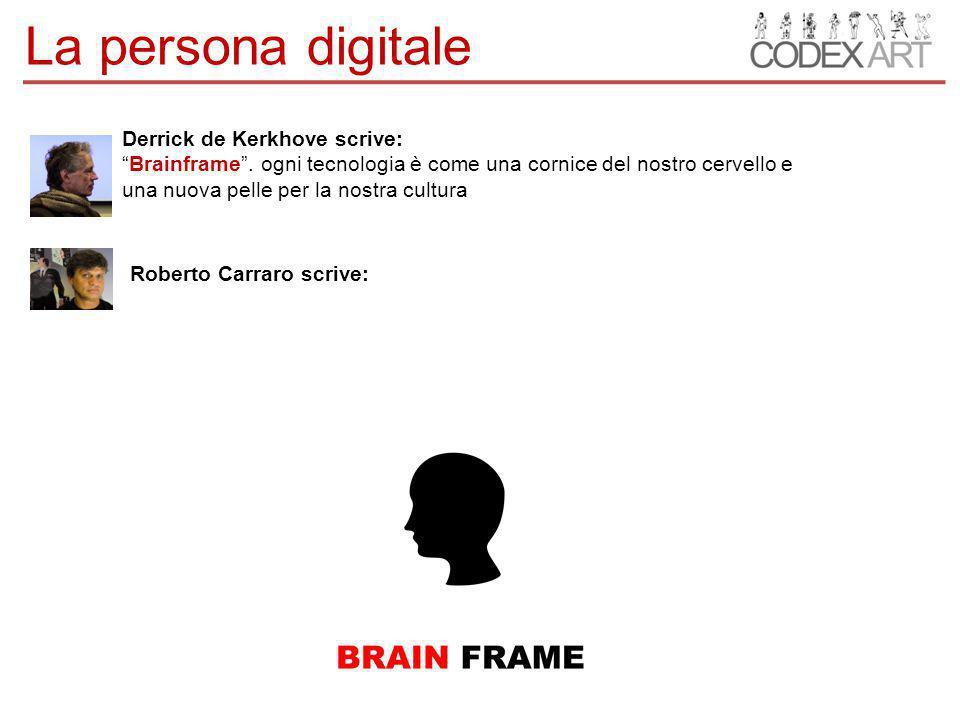Derrick de Kerkhove scrive: Brainframe .