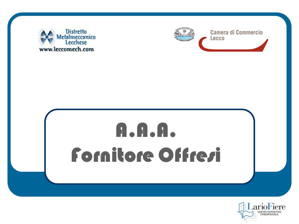 A.A.A. Fornitore Offresi