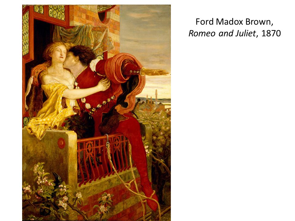 Ford Madox Brown, Romeo and Juliet, 1870