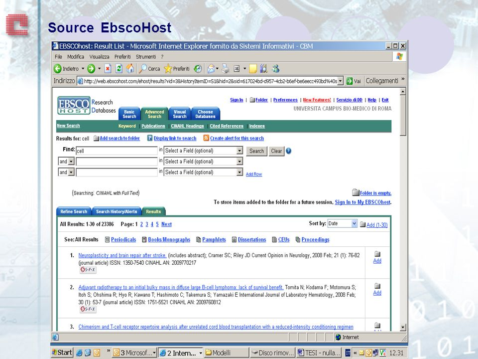 Source EbscoHost