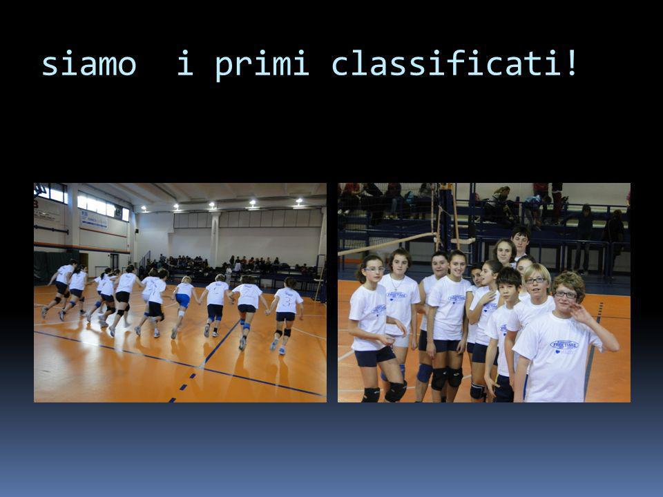 siamo i primi classificati!