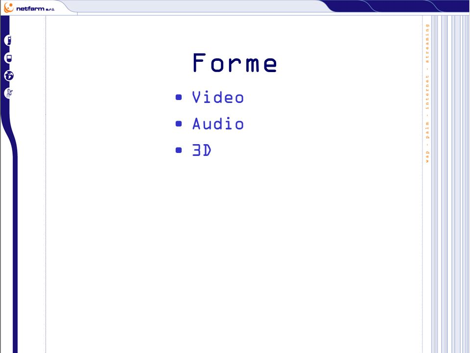 Forme Video Audio 3D
