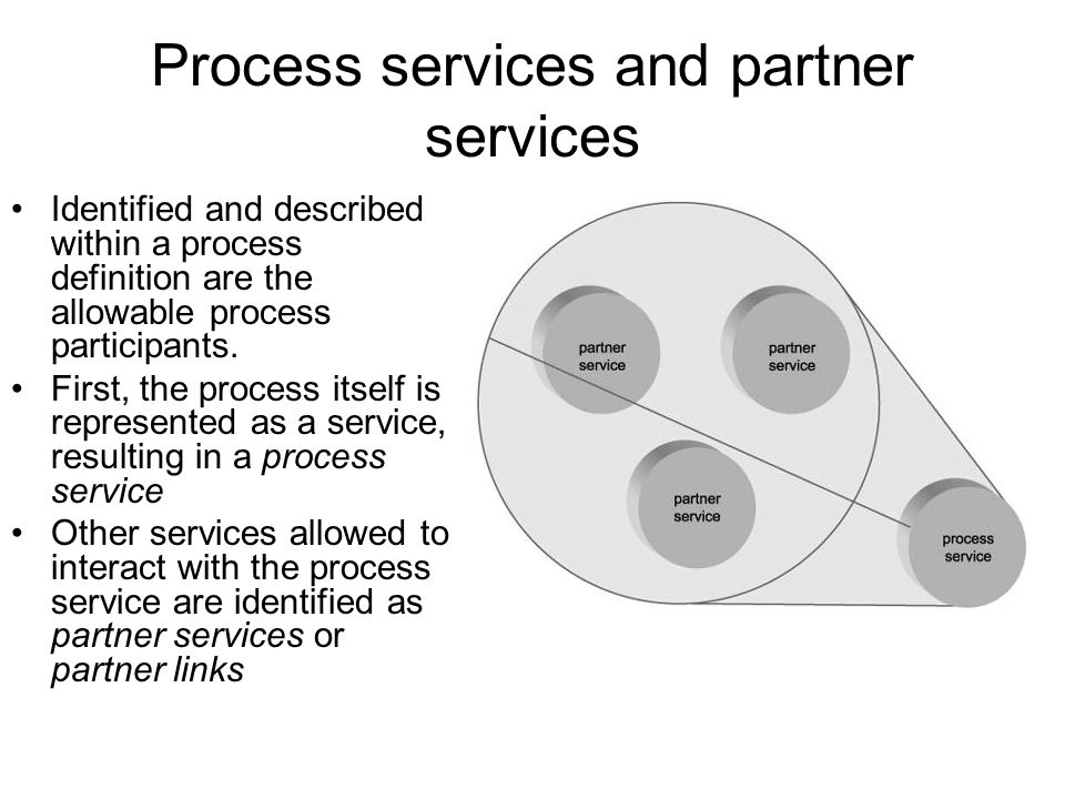Business protocols and process definition The workflow logic that comprises an orchestration can consist of numerous business rules, conditions, and events.