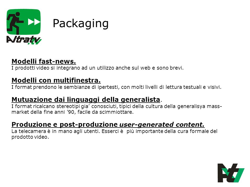 Packaging Modelli fast-news.