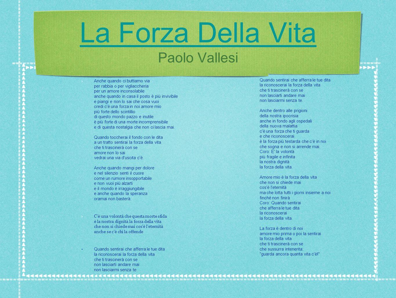 By Alberto Elena Mi Fido Di Te La Forza Della Vita Ppt Scaricare