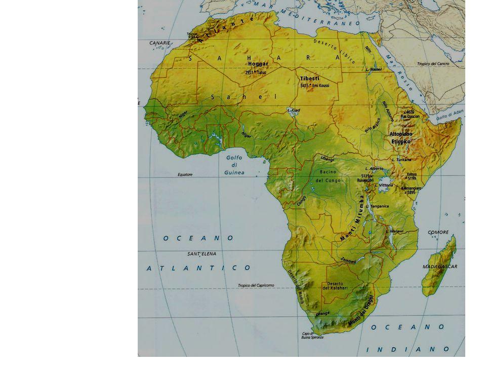 Cartina Muta Dell Africa Fisica.Africa Ppt Video Online Scaricare