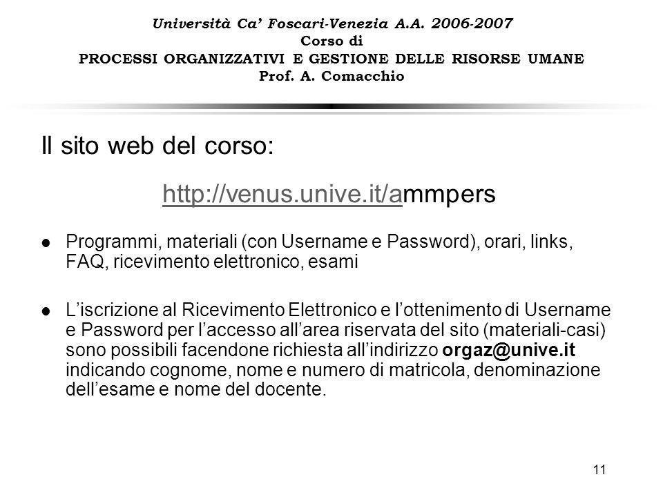Ca Foscari Calendario Esami.1 Universita Ca Foscari Venezia A A Corso Di Processi