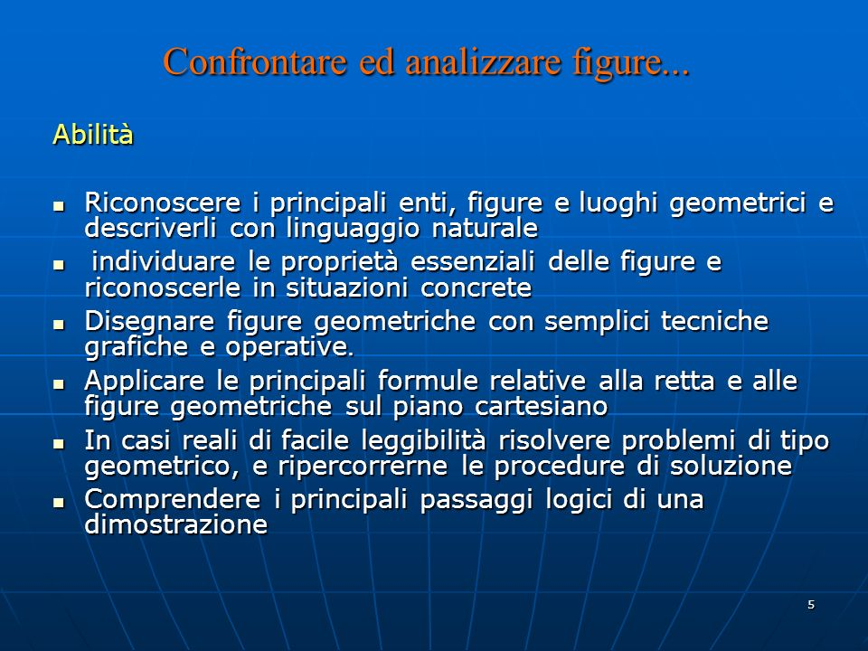 5 Confrontare ed analizzare figure...