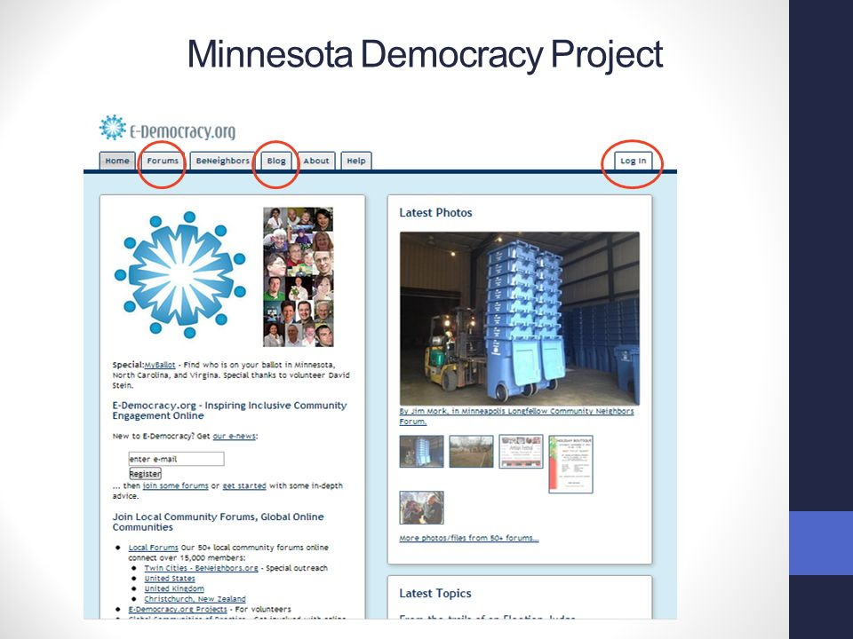 Minnesota Democracy Project