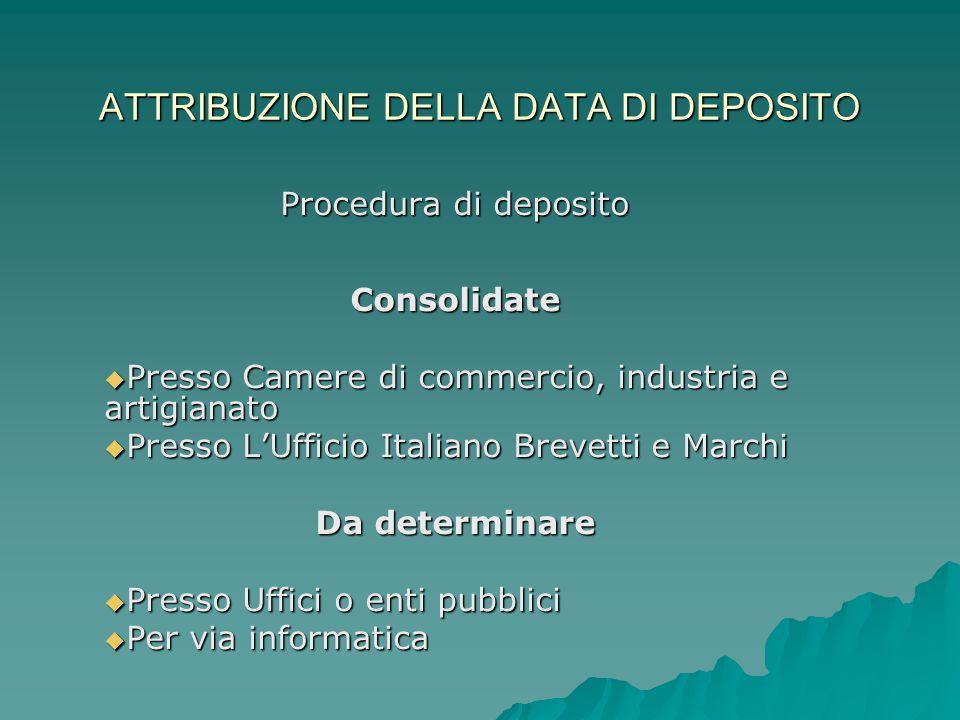 Ufficio Per Brevetti : Ministero delle attivita produttive ufficio italiano brevetti e