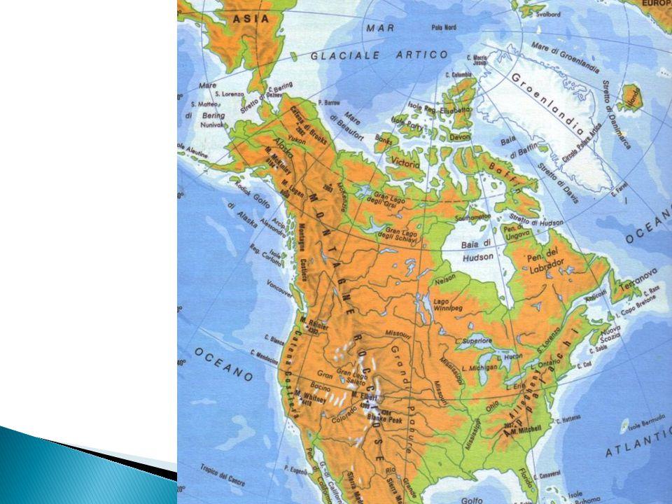 Cartina Fisica Del Nord America.Territorio Storia Popolazione Economia Le Regioni Dell America Ppt Video Online Scaricare