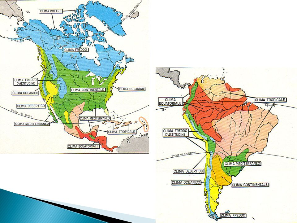 Cartina Climatica America Settentrionale.Territorio Storia Popolazione Economia Le Regioni Dell