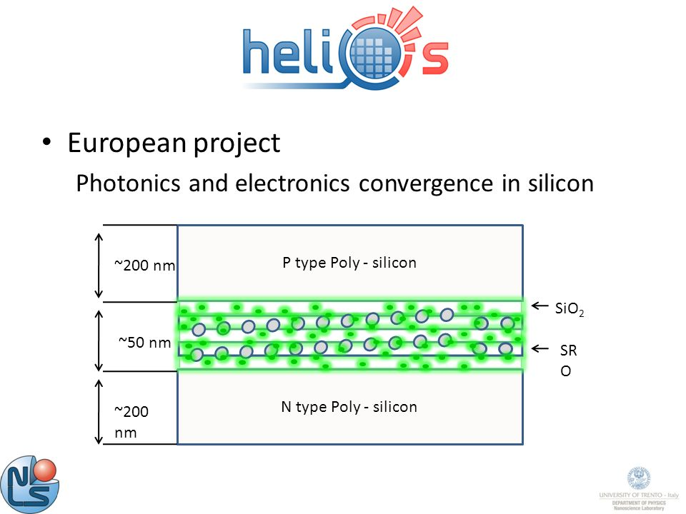 European project Photonics and electronics convergence in silicon