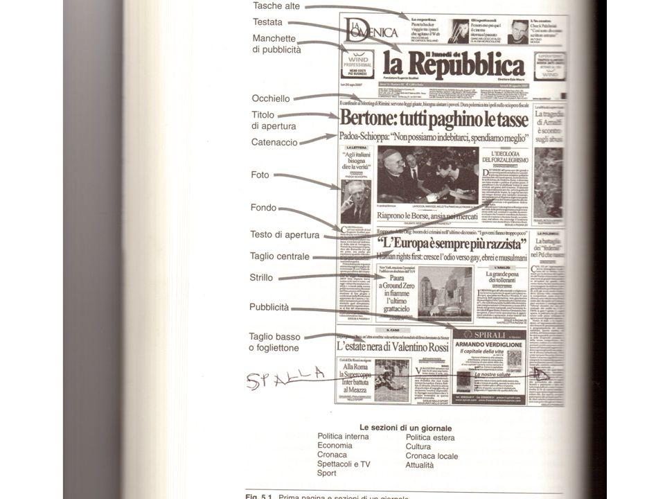 1 Come Leggere I Giornali Anatomia Di Un Quotidiano Oltre Il Testo