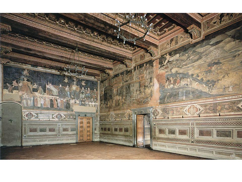 Sala Del Consiglio Dei Nove Siena.Sala Dei Nove Palazzo Pubblico Siena Ppt Video Online