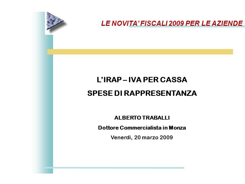 detrazione iva auto 2009