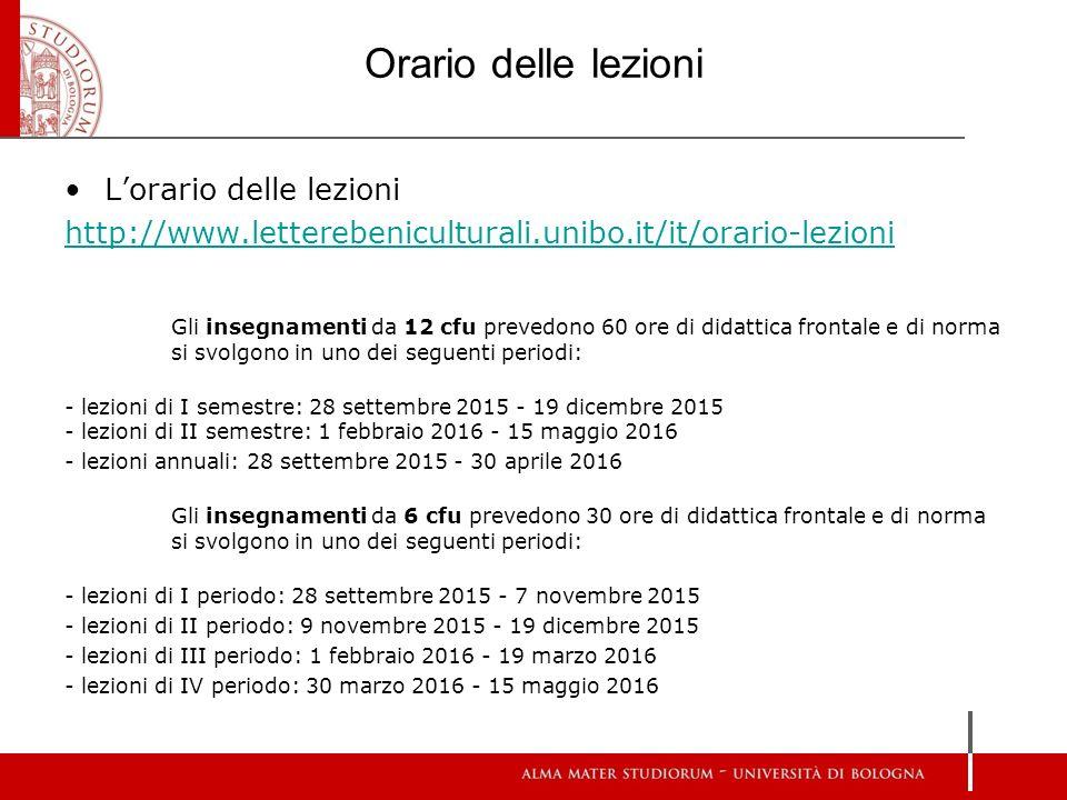 Calendario Lezioni Unibo.Riunione Informativa Per Studenti Di Scambio 2015 2016