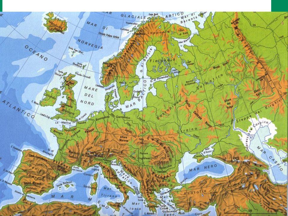 Cartina Muta Laghi Europei.2 L Europa E L Italia Fiumi Mari E Laghi Ppt Video Online Scaricare