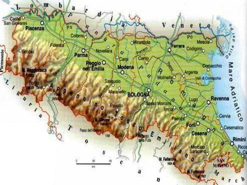 Cartina Muta Emilia Romagna.L Emilia Romagna Ppt Video Online Scaricare
