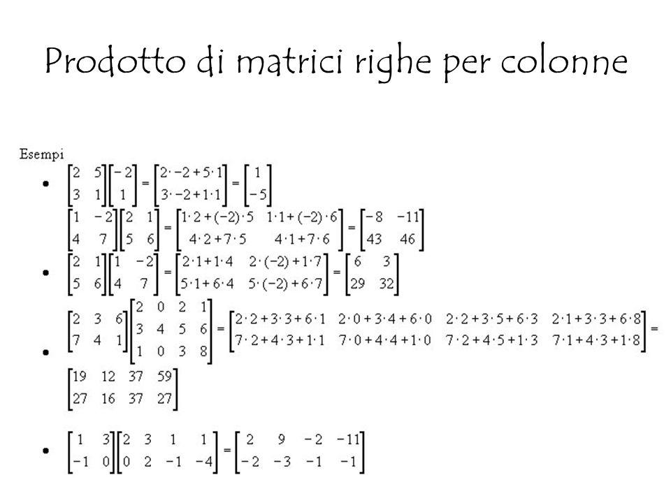 Prodotto Riga Per Colonna.Sistemi Di Equazioni Lineari Sistemi Di Primo Grado Di Due