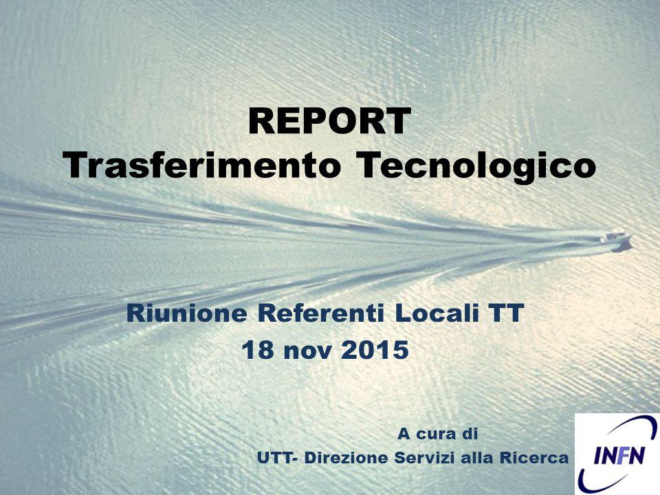 Ufficio Di Trasferimento Tecnologico : Report trasferimento tecnologico riunione referenti locali tt