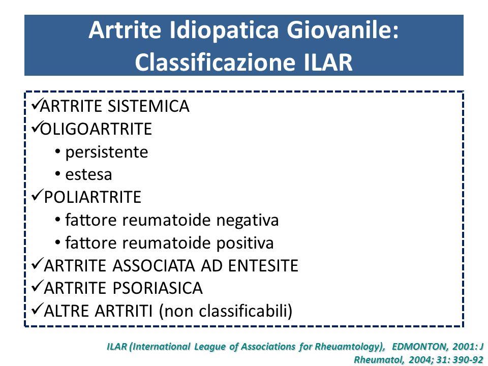 Artrite idiopatica giovanile