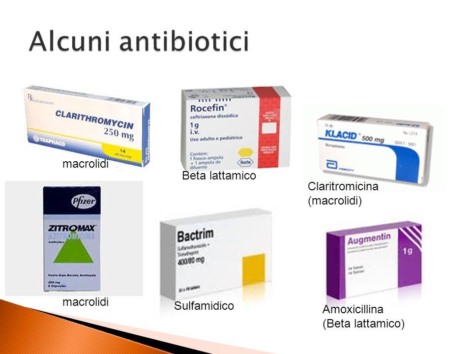 antibiotici con macrolidi