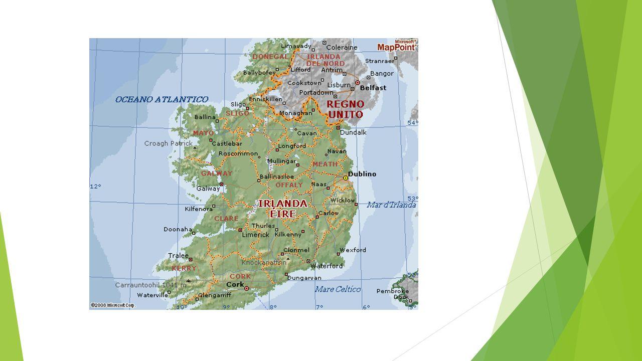 Cartina Politica Dell Irlanda.Irlanda Ppt Scaricare
