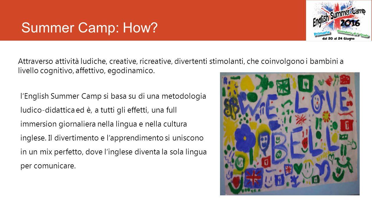 Summer Camp What English Summer Camp E Un Opportunita Per