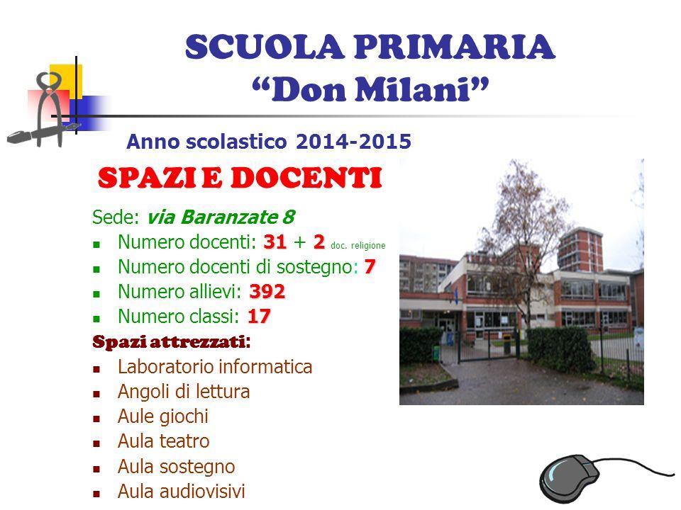 Scuola Inglese Novate Milanese.Istituto Comprensivo Statale Via Baranzate 8 Novate Milanese Mi