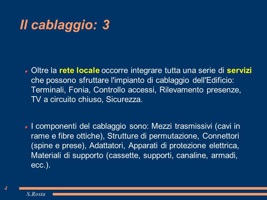 Cablaggio Cat 6 Schema : S.rosta 1 le reti informatiche modulo 9 prof. salvatore rosta ppt