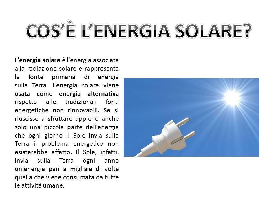 A Cosa Serve L Energia Solare.Cos E L Energia Solare I Pannelli Solari Come Viene