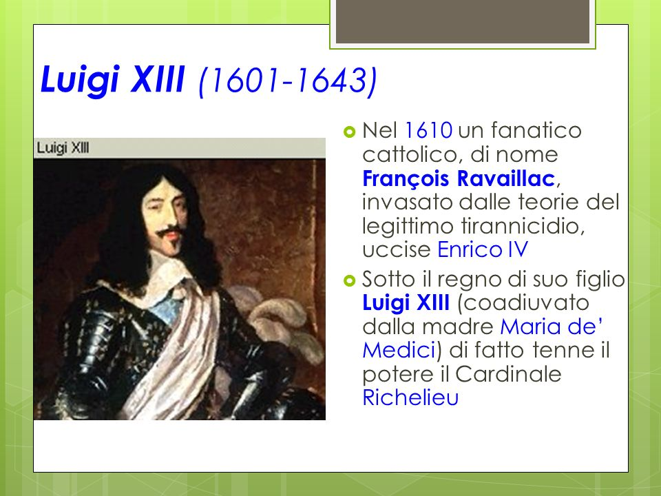 era impotente luigi xiii