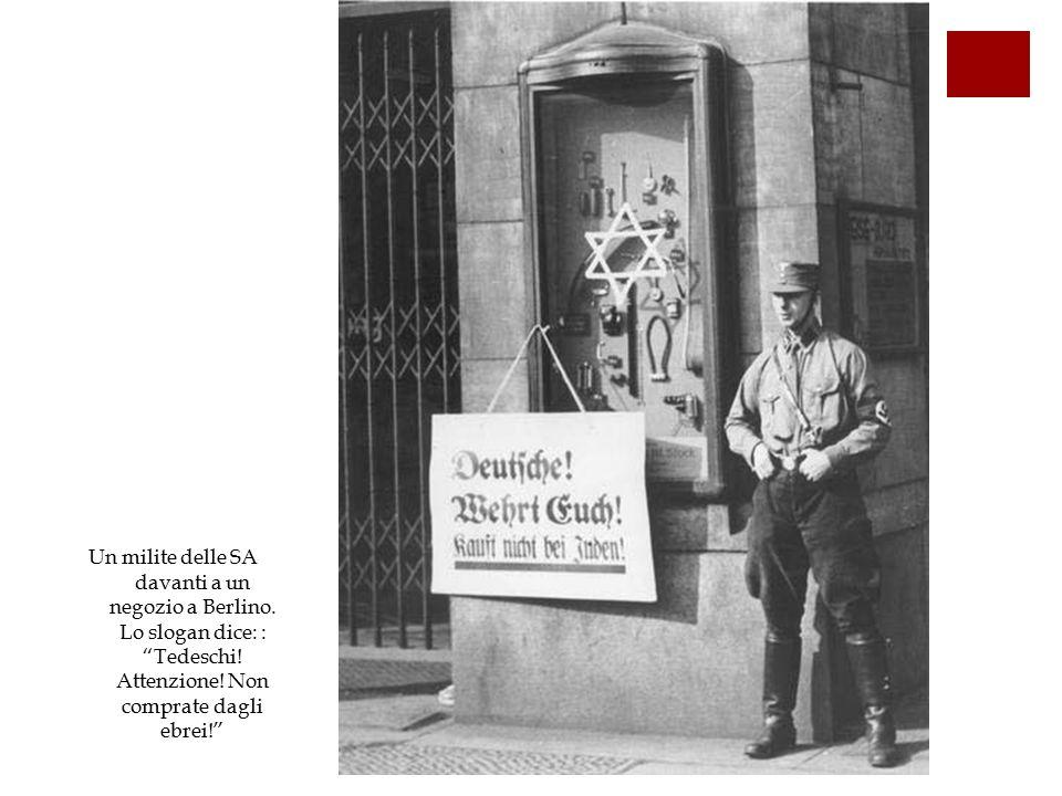 7db3585836 Parte Quarta: La Shoah. 13. La persecuzione degli ebrei tedeschi ...